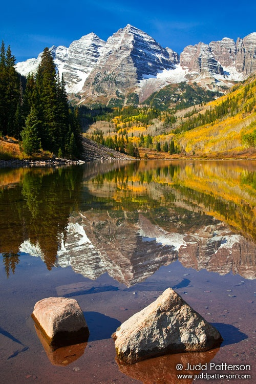 Maroon Bells, White River National Forest, Colorado, United States