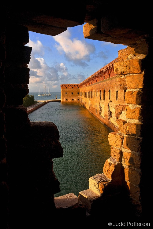 Fort Jefferson Morning, Dry Tortugas National Park, Florida, United States