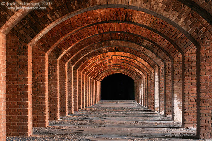 Between the Bastions, Dry Tortugas National Park, Florida, United States