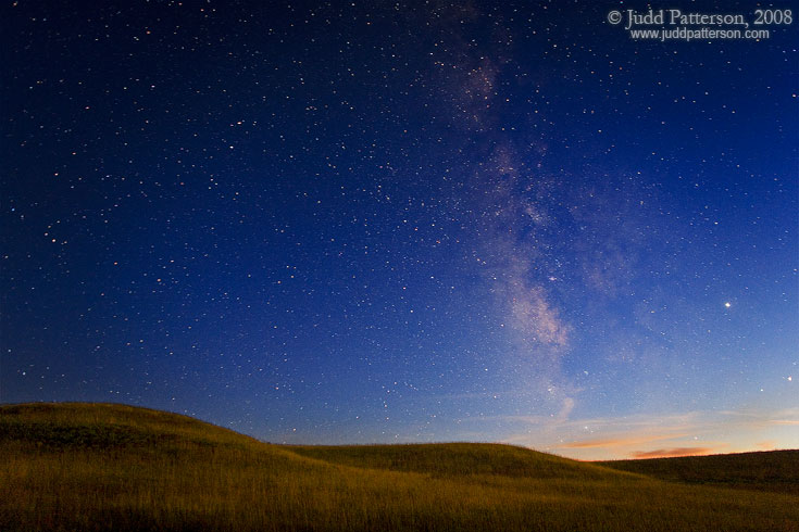 Fade to Night, Konza Prairie, Kansas, United States