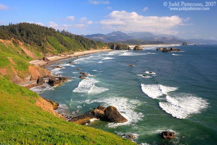 Beautiful Oregon Coast, Ecola State Park, Oregon, United States