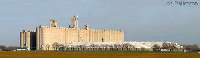 Grain Elevator, Saline County, Kansas, United States