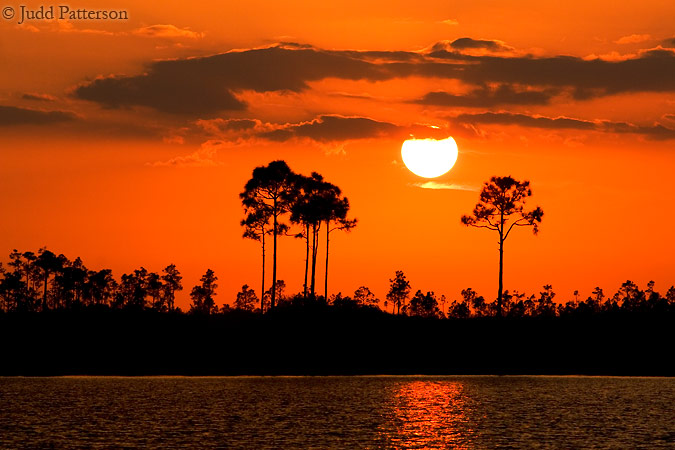 Sundown in the Everglades, Everglades National Park, Florida, United States