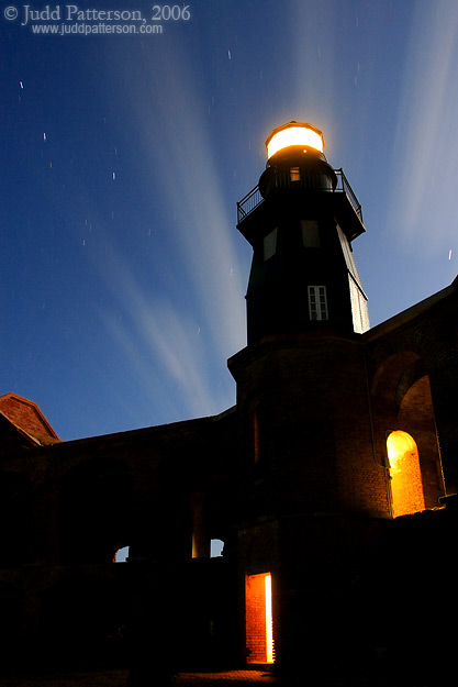 Fort Jefferson Harbor Light, Dry Tortugas National Park, Florida, United States