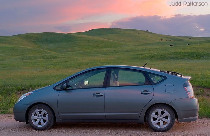 2005 Toyota Prius, Custer State Park, South Dakota, United States