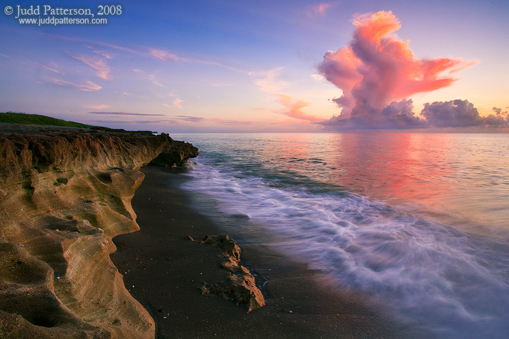 Blowing Rocks Dawn, Blowing Rock Preserve, Florida, United States