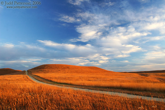 Let's Drive to the Clouds, Konza Prairie, Kansas, United States