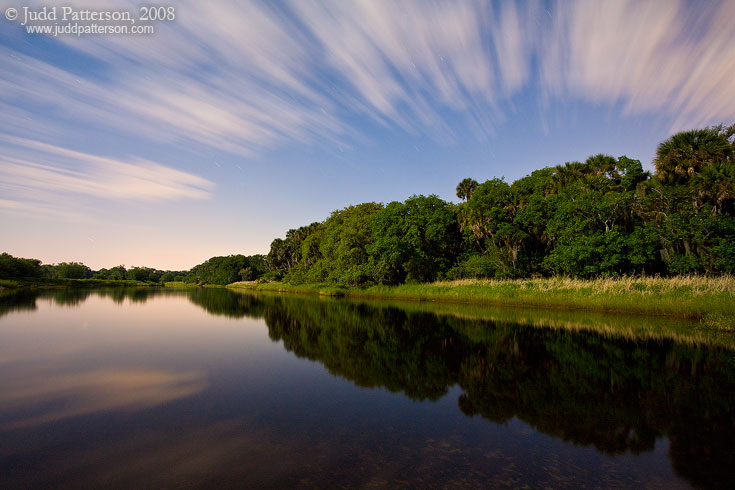 Full Moon Over Myakka, Myakka River State Park, Florida, United States