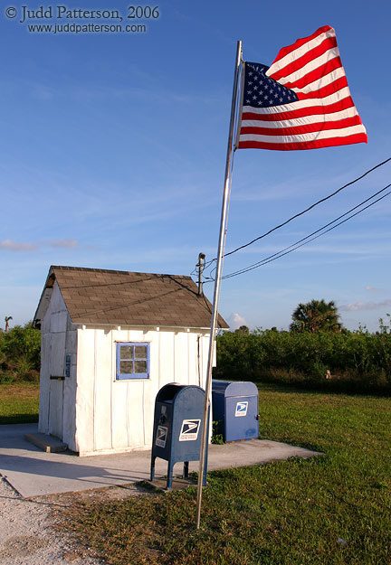 Smallest Post Office, Ochopee, Florida, United States