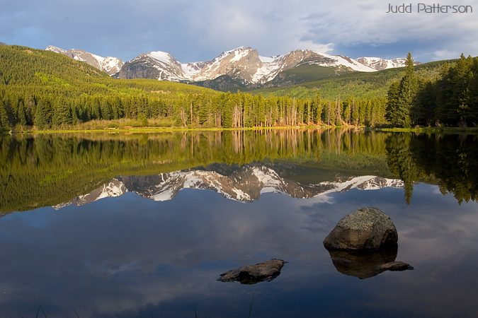 Morning Reflections, Rocky Mountain National Park, Colorado, United States