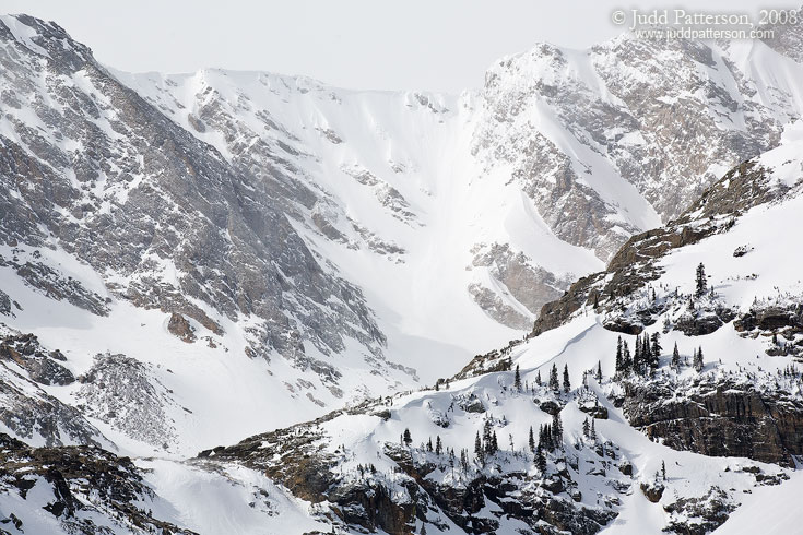 Winter Mountains, Rocky Mountain National Park, Colorado, United States