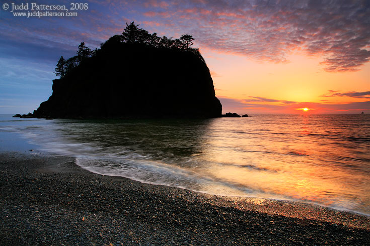 Sea Stack Sunset, Olympic National Park, Washington, United States